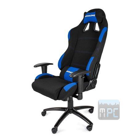 AKRacing Gaming játékülés fekete-kék