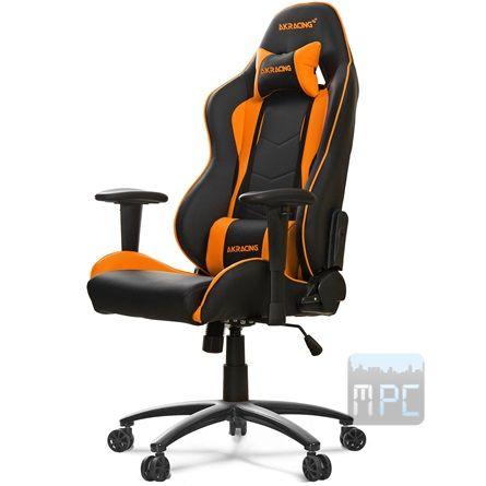 AKRacing Nitro Gaming játékülés narancssárga