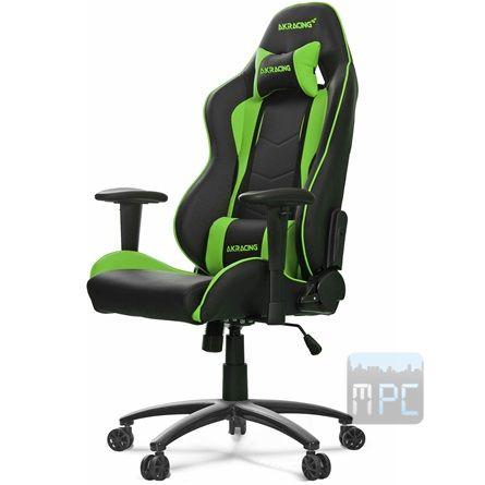 AKRacing Nitro Gaming játékülés zöld