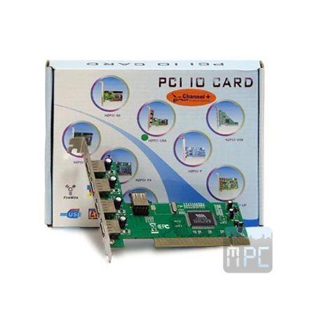 Best Connect PCI - 4+1 USB2.0 IO vezérlõ