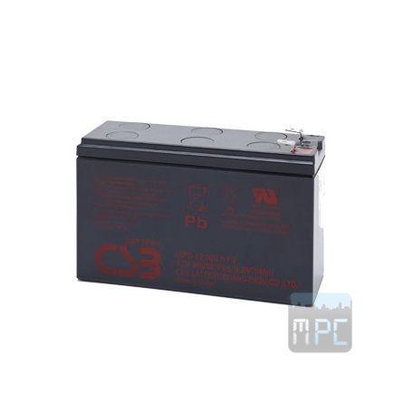 CSB 12V ólom-sav 7200mAh UPS akkumulátor