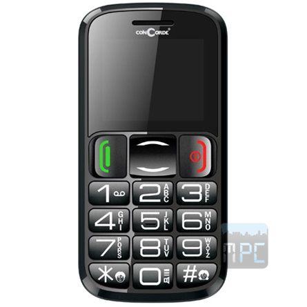 Concorde 1300 32GB mobiltelefon fekete