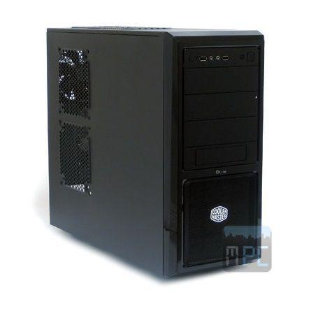 Cooler Master Elite 370 (táp nélkül) ATX ház fekete